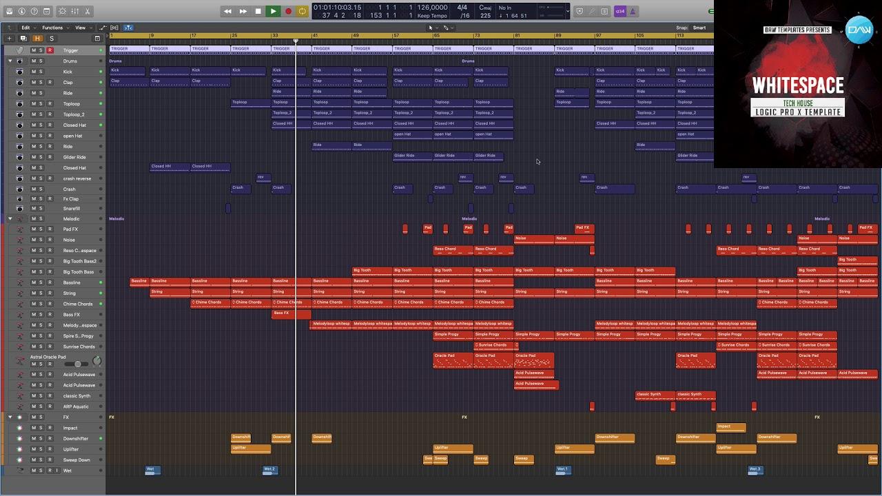 Whitespace Logic X Pro Template
