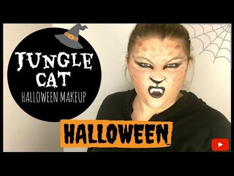 JUNGLE CAT   HALLOWEEN MAKEUP 2016