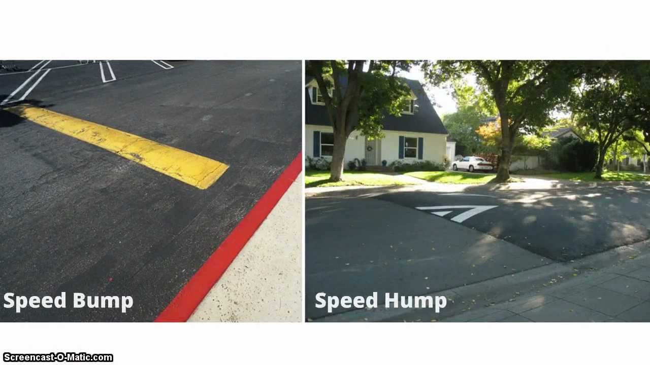 a bump in the road meaning