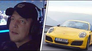 MontanaBlack reacts to Porsche 911 😱 Realtalk Fortnite tournaments | MontanaBlack reaction