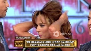 Pampita re caliente con Iliana Calabró