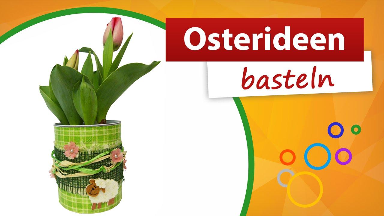 Osterideen basteln blumentopf trendmarkt24 youtube for Bastelideen blumentopf
