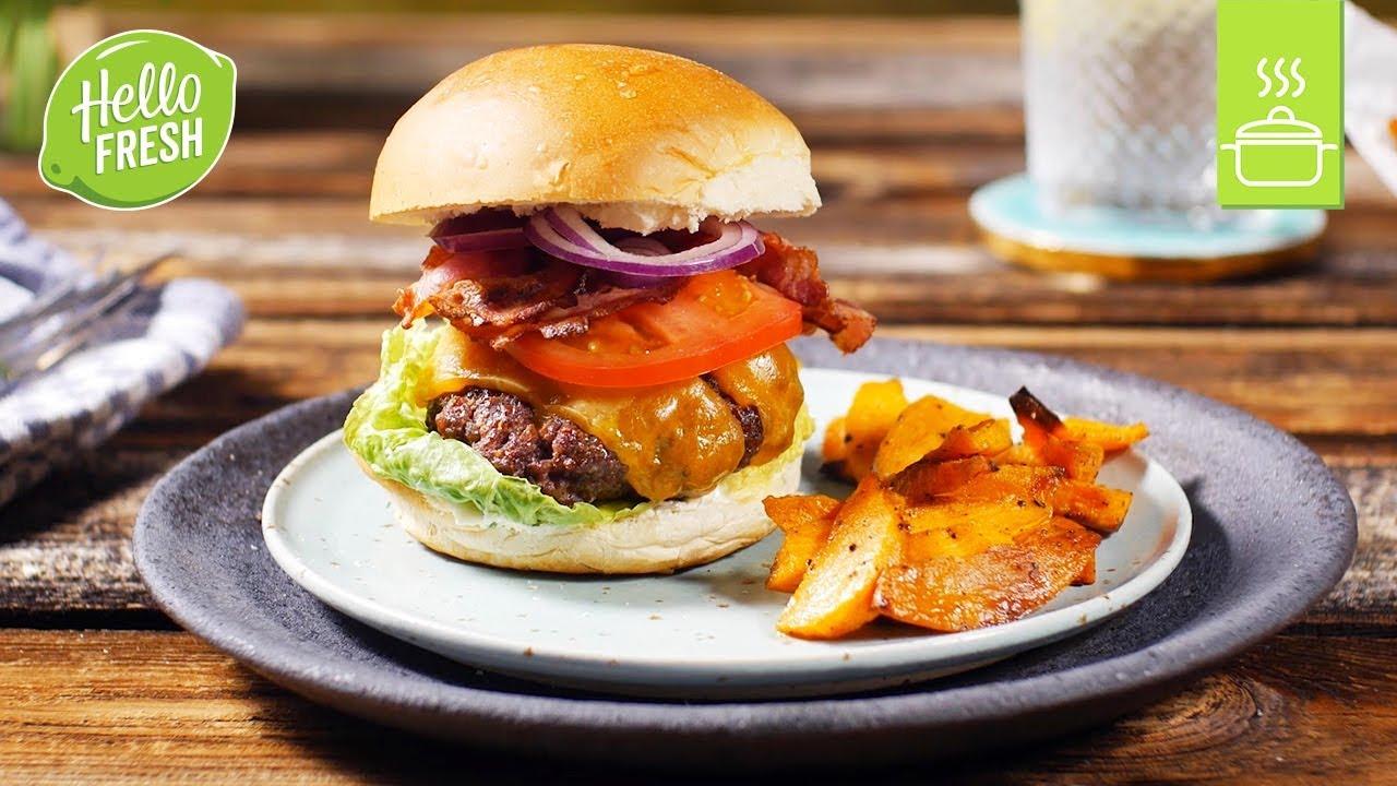 American Beef- Burger | Grillbox Rezepte | | US Amerikanische Küche ...