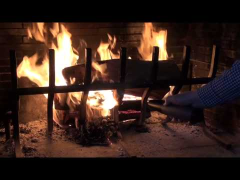 Review How To Start Your Wood Burning Fireplace Easy And Fast With The Fiair Blower Youtube