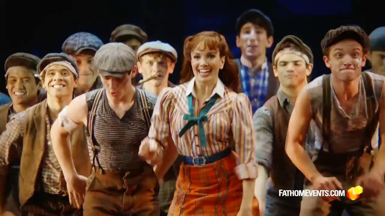 Disney S Newsies The Broadway Musical Youtube