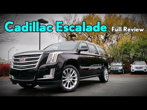 2018 Cadillac Escalade ESV: Full Review | Platinum, Premium Luxury & Luxury