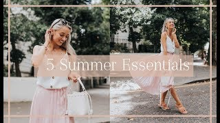 5 SUMMER WARDROBE ESSENTIALS 🌸 #FashionMumblrSummerEdit