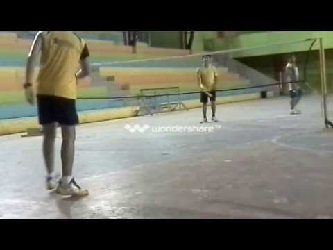 Roxas Badminton Club (Chris vs Mak And Sir BOng)