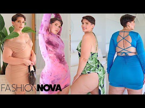 STYLISH & COMFY DRESSES! |Fashion Nova Curve Try On Haul✨