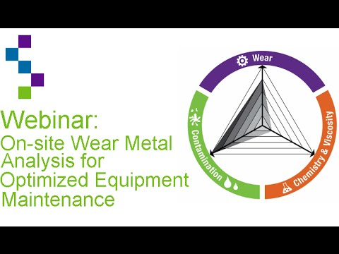 On Site Wear Metal Analysis for Optimized Equipment Maintenance