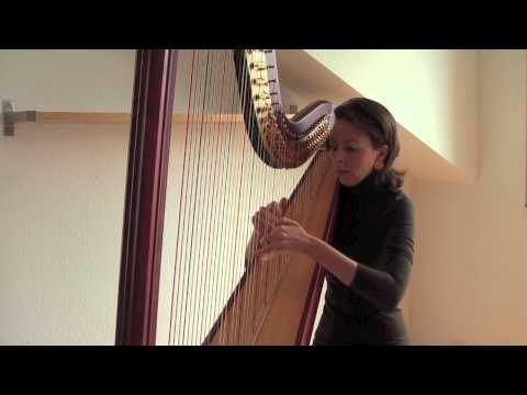 G. F. Händel - The Arrival of the Queen of Sheba Harfe / Harp