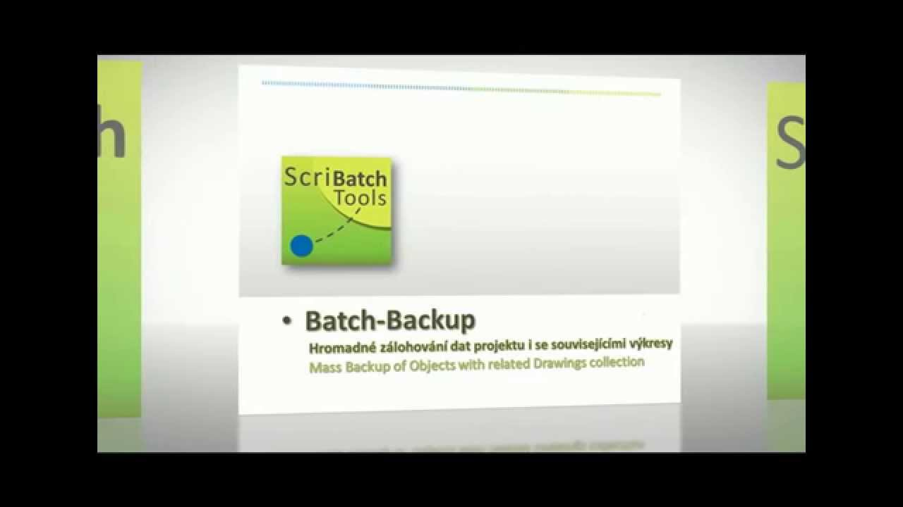 Av Scribatch Tools Batch Backup Youtube