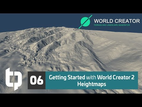 06 | Getting Started with World Creator 2 | Heightmaps