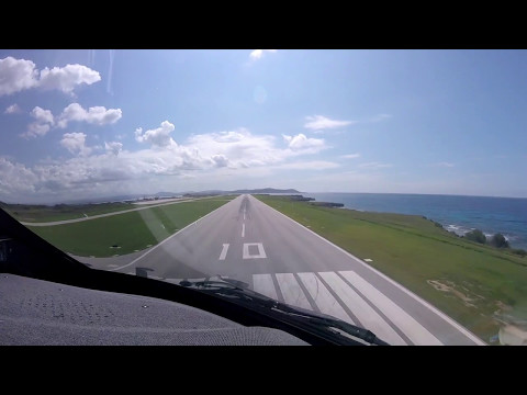 Gulfstream G-IV Landing Guantanamo Bay Navy Base Cuba - Pilot VLOG 006
