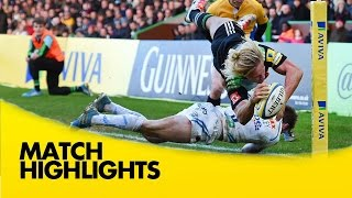 Harlequins v Exeter Chiefs - Aviva Premiership Rugby 2014/15