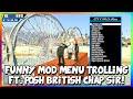 GTA 5 ONLINE - FUNNY MOD MENU TROLLING - FT. POSH BRITISH CHAP! (GTA 5 MODS)