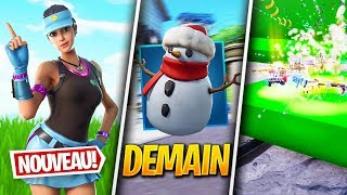 A NEW SKIN TROUVÉ, NEW ITEM - Other on FORTNITE! (Fortnite News)