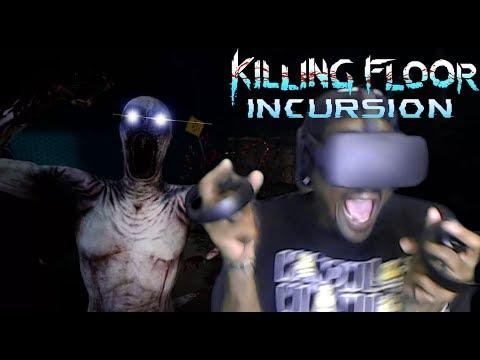 THE WALKING DEAD IN VR...BYE | Killing Floor: Incursion VR [[Oculus Rift]]