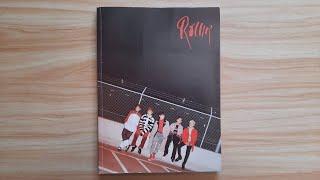 B1A4 (비원에이포) Rollin' Album Unboxing Black ver. (2017-09-25)