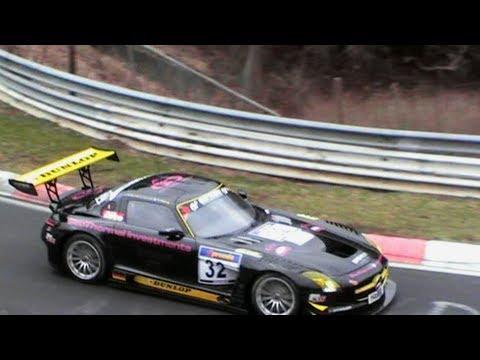 Mercedes-Benz SLS AMG GT3 Nürburgring Nordschleife 2011