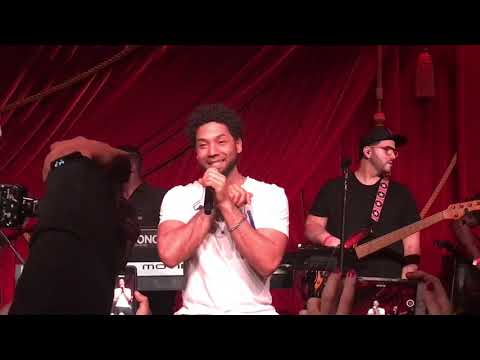 Jussie Smollett ' Sum Of My Music ' NYC Album Release Concert & Party with Crown Royal