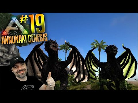 Ark Annunaki Genesis Mod Gameplay - S2 Ep 19 - ARK WYVERN TAME PARTY (ARK WYVERN BREEDING IMPRINT) )