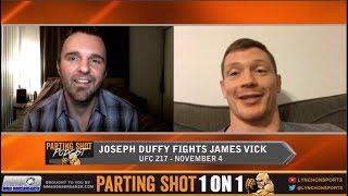 UFC 217's Joseph Duffy talks James Vick matchup, training at Tristar and Halloween