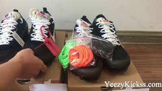 Comparison Real VS Fake Off White Nike Air Vapormax Black Review :Yeezykickss.net