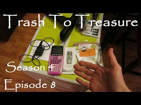 Trash To Treasure Season 4 Episode 8 - Dumpster Diving Web Series - REI & Office Depot Haul AGAIN!!
