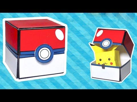 Papercraft - How To Make A Pokeball