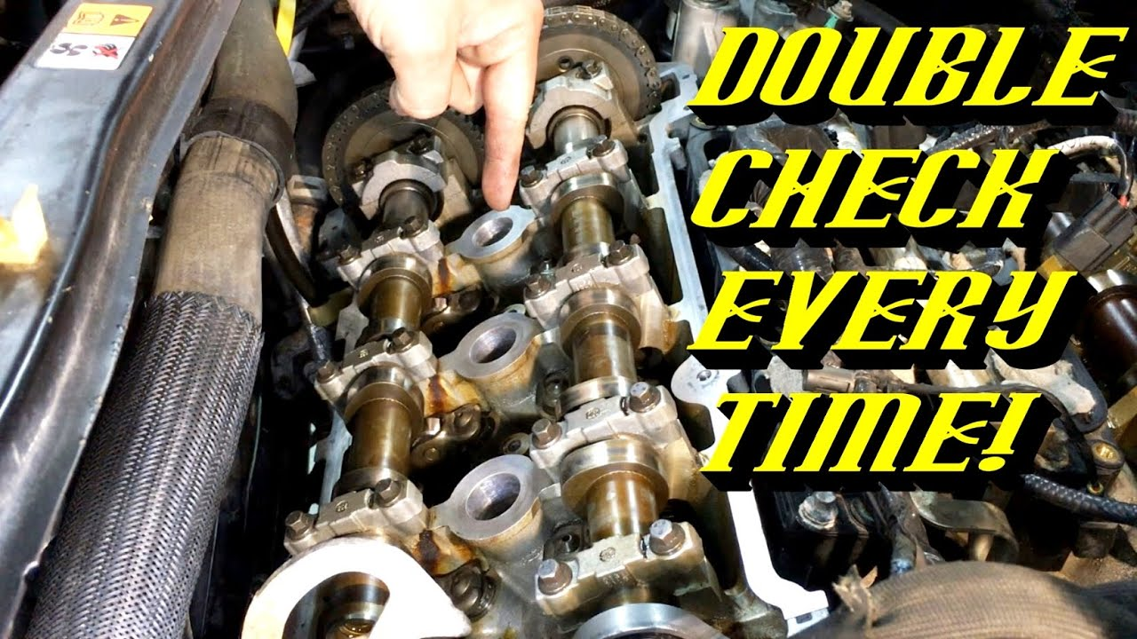ford quick tips 61 3 0l dohc duratec camshaft cap inspection [ 1280 x 720 Pixel ]