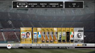 FIFA 12 Ultimate Team - LIVE Pack Opening with Shane