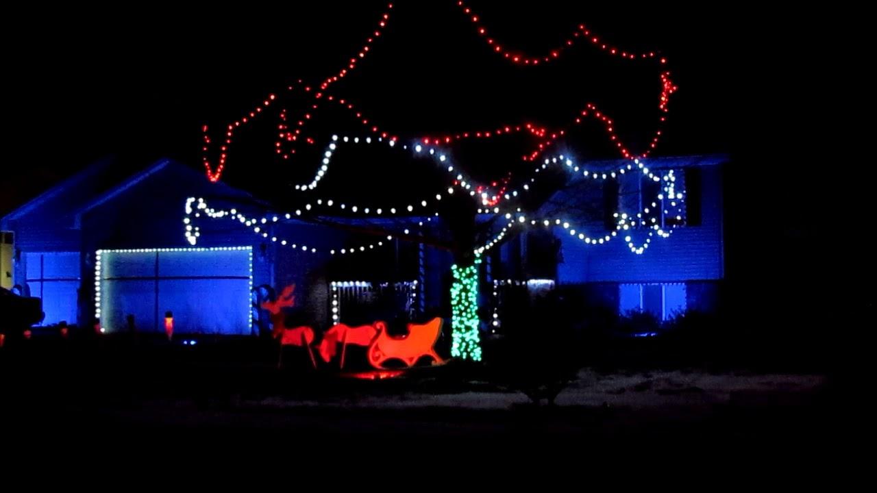Stranger Things Christmas Lights.Stranger Things Christmas Light Show