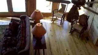 Blue Ridge Log Cabin Model Home Tour
