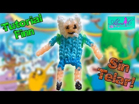 ♥ Tutorial: Finn de Hora de Aventuras + Mochila de gomitas (sin telar) ♥