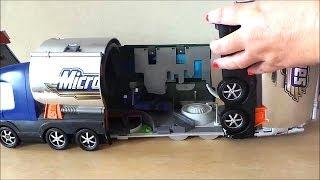 2001 Micro Machines Transforming boys Toy Tanker Truck