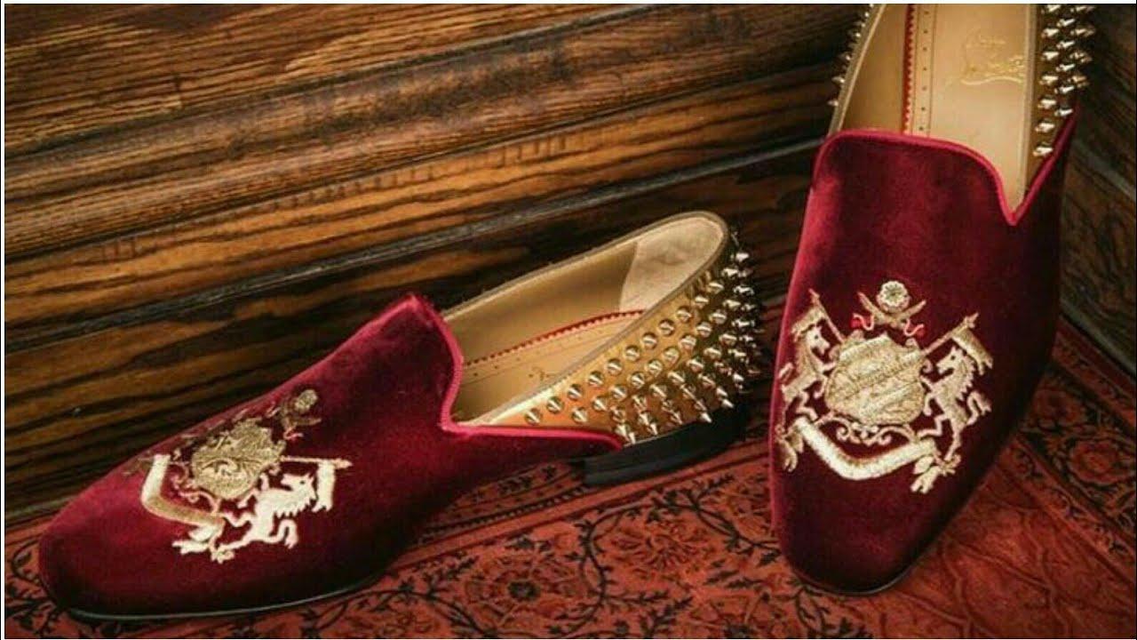 Sherwani Jutti For Groom | Punjabi Jutti For Men | Wedding Shoes For Men 2017