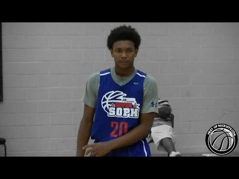 KJ Fitzgerald is a SHIFTY 2017 PG from South Florida - Super Sophomore Camp