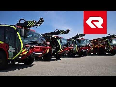 Four Rosenbauer PANTHER ARFF trucks for Dublin