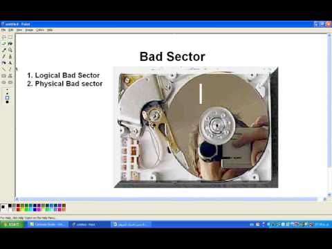 Hard Disk badsector how to hide and clean bad sectors in Hard disk By Ustad Barekzai