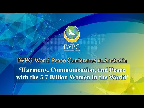[EN] 2019 IWPG World Peace Conference in Australia