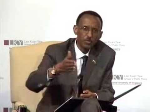 2008 Lee Kuan Yew School of Public Policy - Africa and Rwanda: From Crisis to Socioeconomic