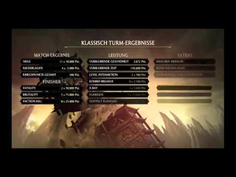 Mortal Kombat X pro gamer [watch & learn] GER