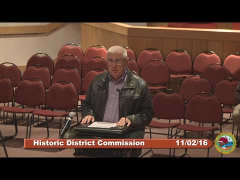 Historic District Commission 11.02.16