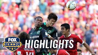 FSV Mainz 05 vs. Hannover 96 - 2015–16 Bundesliga Highlights