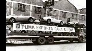 Caminhão cegonha carregado de Puma com destino à Suíça FOTO DE EPOCA