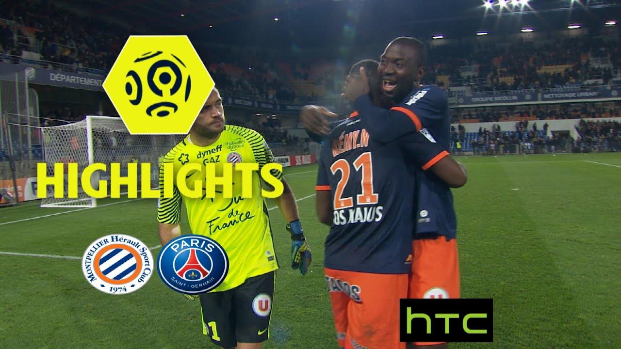 Montpellier Hérault Sc Paris Saint Germain 3 0