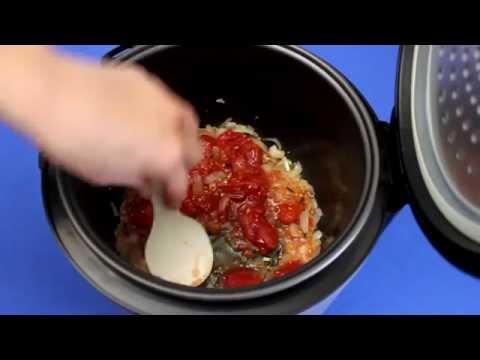 Рецепт приготовления итальянского супа с сосисками и фасолью в мультиварке VITEK VT-4216 CM