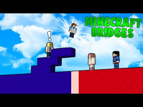 Minecraft - THE BRIDGE GAME IS BACK - with L8Games!  