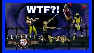 REACTION: [TAS] Ultimate Mortal Kombat Trilogy (HACK) Glitch mode